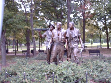 The Three Soldiers - Vietnam Memorial