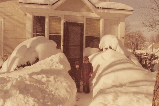 Blizzard of '78 - South Whitley